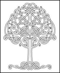 celtic coloring pages adults funycoloring