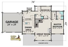 simple log cabin floor plans cottage country farmhouse design free log cabin home floor plans