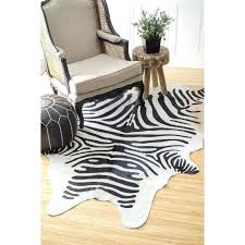 Zebra Area Rug Zebra Area Rugs Stripe Rug Print Brown Walmart