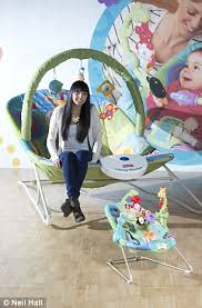 Baby Bouncing Chair Who U0027s A Big Baby Huge Size Bouncy Chair Gives Parents The