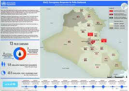 Iraq Map World by Who Iraq Health Situation Reports
