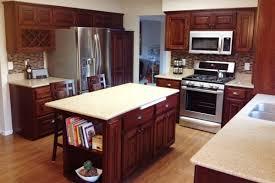 Kitchen Cabinet Restaining by Restaining Kitchen Cabinets Home Interior Design 2017