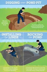 build a garden pond and bridge in your backyard fix com home