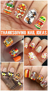 thanksgiving nails thanksgiving nail designs