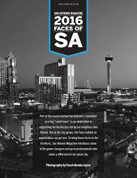 Time Warner Cable San Antonio Texas Phone Number San Antonio Magazine U0027s 2016 Faces Of Sa By San Antonio Magazine