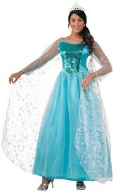 frozen dress for halloween snow queen elsa women u0027s costume u0027s elsa frozen costume