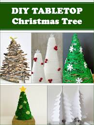 diy tabletop tree decorations for your home