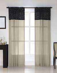 westgate embroidered pole top curtain panel curtainworks com