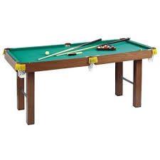 buy homcom 4ft mini pool table billiards tabletop snooker toy with