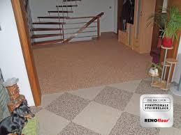 Steinteppich Bad Steinteppich Von Renofloor Mit Flow System Das Bad Schnell