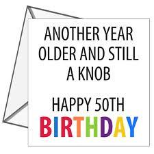 friend 50 birthday card ebay