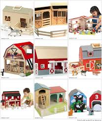 Toy Barns Best Wooden Barn Toys For Little Kids With Image Vencato934