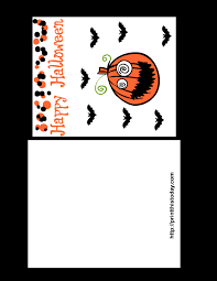 halloween cards print u2013 fun halloween