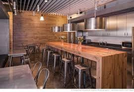 fancy industrial residential kitchen features white kitchen