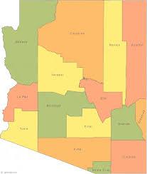 louisiana state map key map of arizona