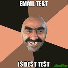 Meme Test - email test is best test meme provincial man 78510 memeshappen