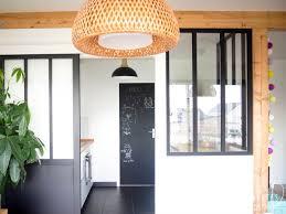 cuisine verriere atelier diy une verrière style atelier pas chère pour séparer cuisine et