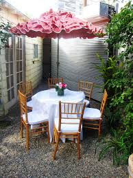 Pink Outdoor Furniture by Frilly Pink Outdoor Umbrella Umbrella With Ruffles Outdoor
