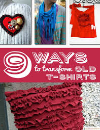 Upcycle Old Tshirts - 791 best re fashion tshirts images on pinterest jewelry diy