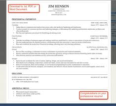 professional resume builder online resume builder