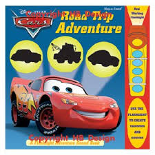 disney pixar cars road trip adventure pop book