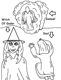 saul and the witch of endor sunday lesson