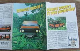 le french rabbit 1982 renault rodéo 5 1983 catalogue pub auto pinterest