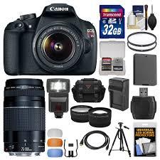 canon eos rebel t3 black 12 2mp dslr camera ef s 18 55mm 1 3 5