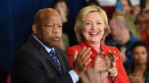 john lewis gave hillary clinton a glimpse of what could have been