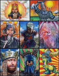monty python grail sketch card by choffman36 on deviantart