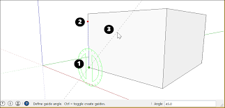 measuring angles and distances to model precisely sketchup