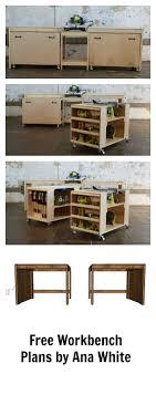 Best  Diy Workbench Ideas On Pinterest Work Bench Diy Small - Work table design plans