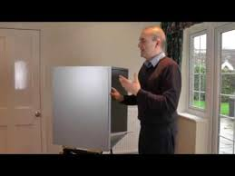 How To Fit Heat Deflectors On Your Kitchen Doors YouTube - Kitchen cabinet heat shield