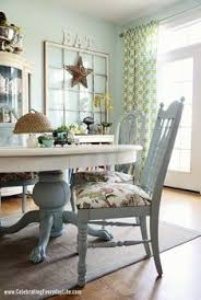 blue dining room table swoon that seals it i m painting the playroom chairs this blue