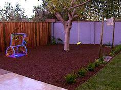 Backyard Play Area Ideas by Garden Play Area Idea With Rubber Mulch Tinker Around