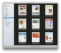 mac brochure templates pages newsletter templates free fieldstation co