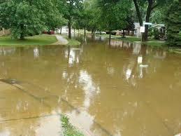 flooding on washington blvd