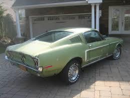 1968 mustang fastback original 147k