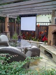 Backyard Home Theater Make Backyard Picture Perfect U2013 East Bay Times