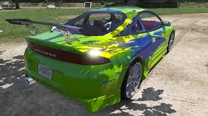car mitsubishi eclipse 1995 mitsubishi eclipse gsx gta5 mods com