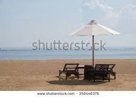Beach Umbrella And Chairs Beach Chair Umbrella Stock Images Royalty Free Images U0026 Vectors