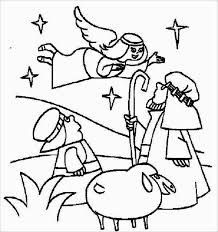 bible christmas story joy coloring pages place
