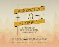 infographic mobile commerce will be this thanksgiving doz