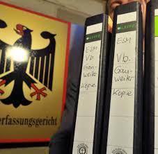 K He Zu Kaufen Esm Urteil Karlsruhe Weiß Wo Europas Hammer Der Macht Hängt Welt