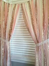 Sheer Gold Curtains Gold Sparkle Curtains White Pipe And Drape With White Sequin