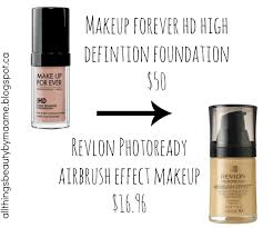 makeup forever airbrush dollar and sense foundation dupes all things beauty maame s