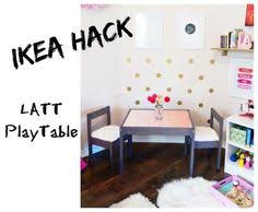 forty two roads hacking ikea latt compartment and reversible table top hack art corner