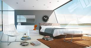White Bedroom Furniture Design Ideas Sleek Bedrooms With Cool Clean Lines