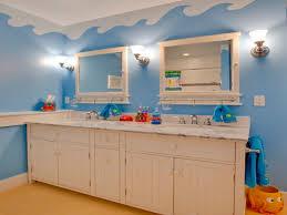 beach themed room decor kids ocean bathroom ideas nautical