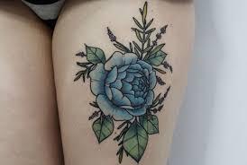 imagenes rosas tatoo tatuajes de rosas azules y su significado